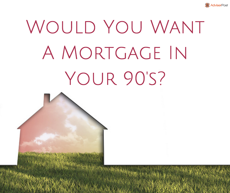 Would You Want A Mortgage In Your 90 S Mortgages